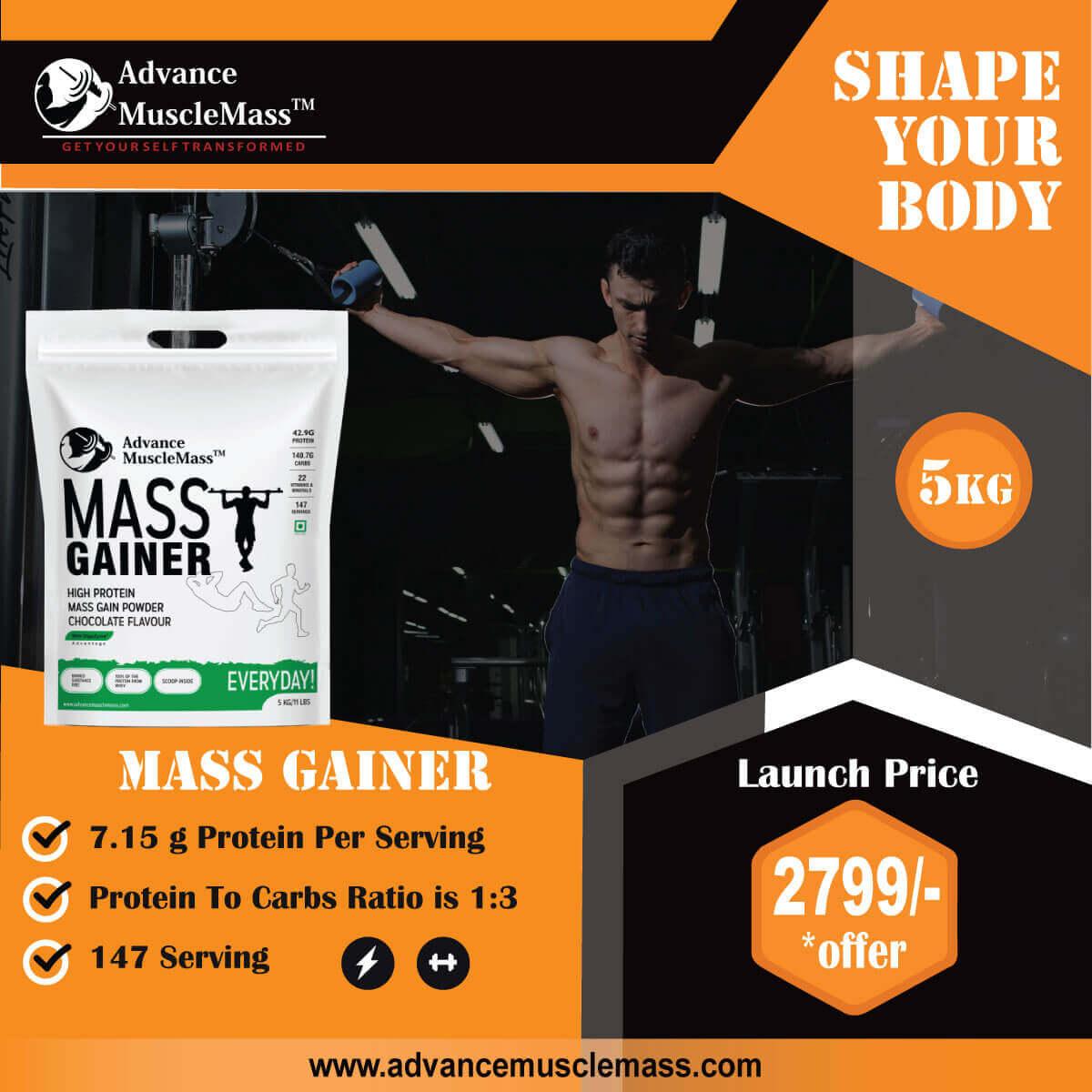 Advance Musclemass Banner